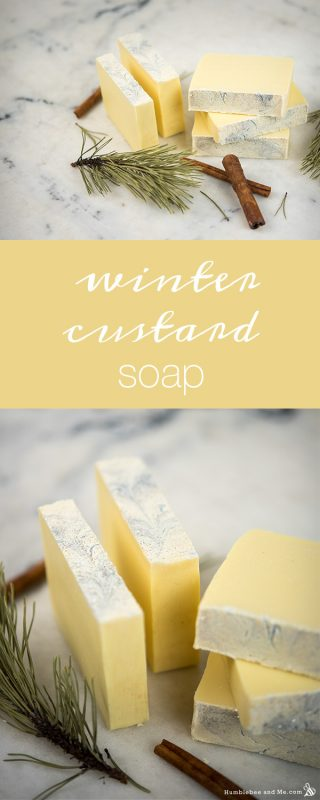 Winter Custard Soap