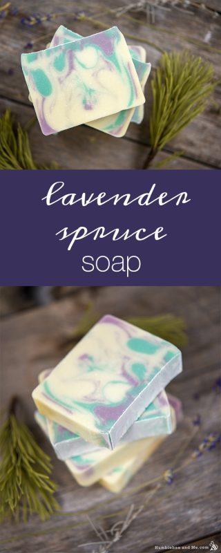 Lavender Spruce Soap