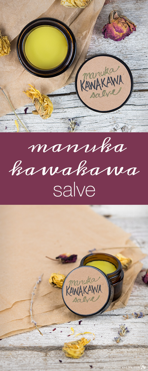 How to Make Manuka Kawakawa Salve