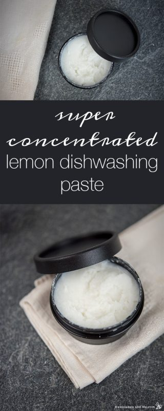 Super Concentrated Lemon Dishwashing Paste