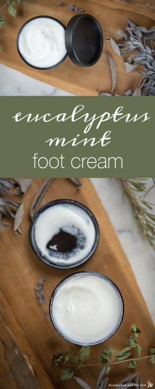 Eucalyptus Mint Foot Cream