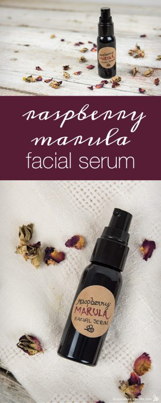 Raspberry Marula Facial Serum