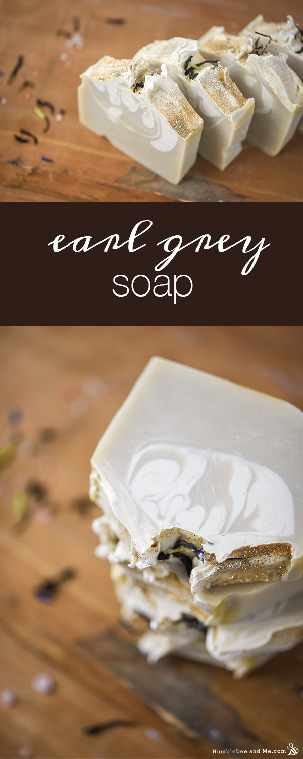 How to Make Cream of Earl Grey Soap