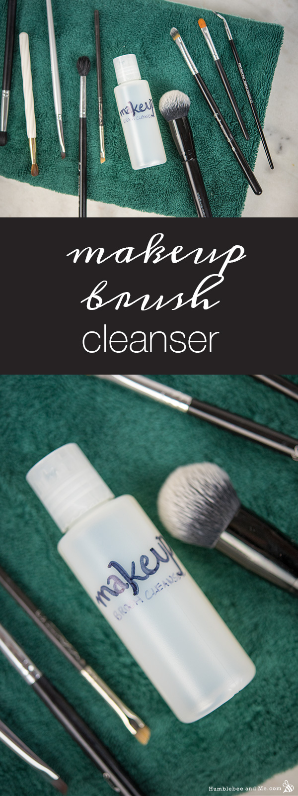 How to Make Makeup Brush Cleanser