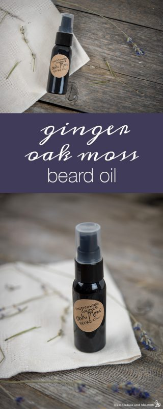 Conditioning Ginger Oak Moss Beard Oil