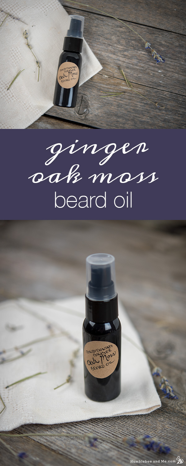 How to Make Conditioning Ginger Oak Moss Beard Oil