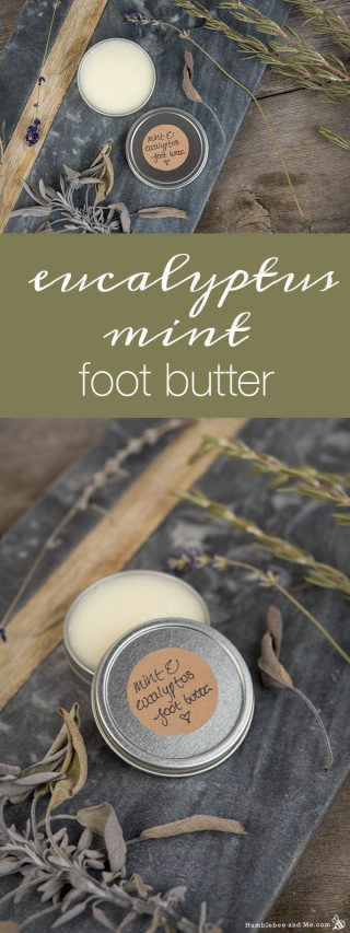 Eucalyptus Mint Foot Butter