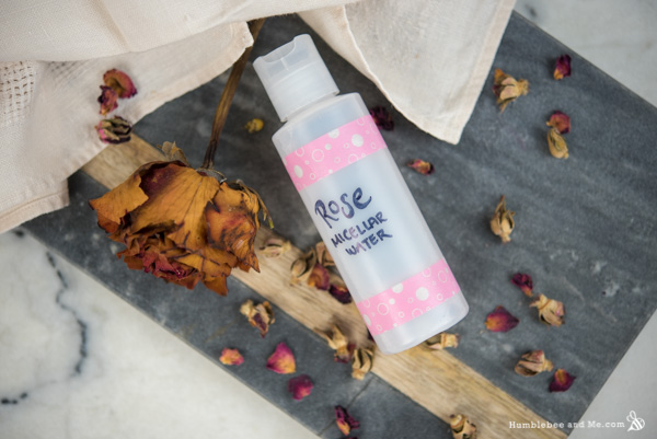 How to Make Rose Micellar Water