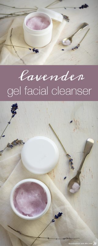Lavender Gel Facial Cleanser