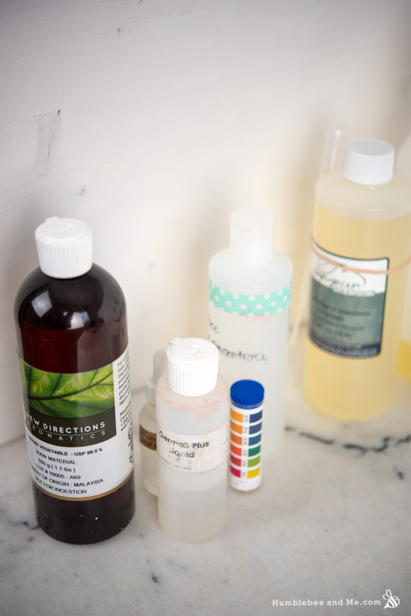 How to Make Aloe Rosemary Spruce Foaming Hand Wash