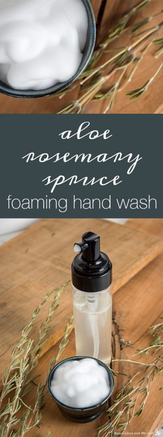 Aloe Rosemary Spruce Foaming Hand Wash