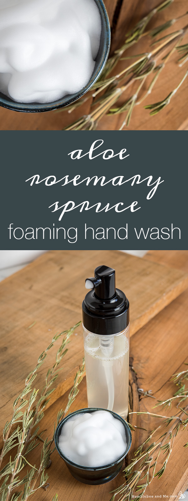 Aloe Rosemary Spruce Пенящееся средство для мытья рук