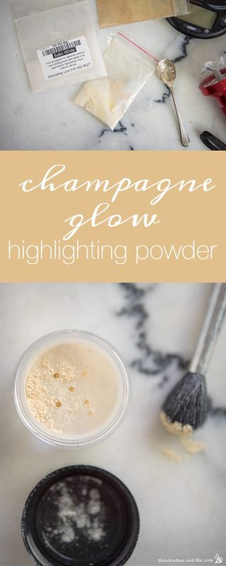 Champagne Glow Highlighting Powder