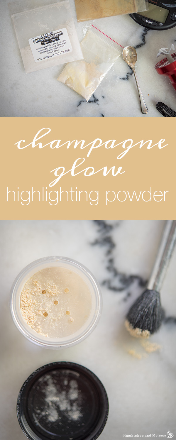How to Make Champagne Glow Highlighting Powder