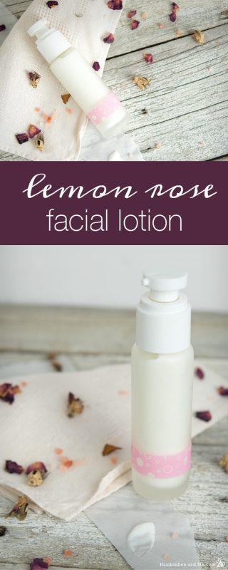 Lemon Rose Facial Lotion