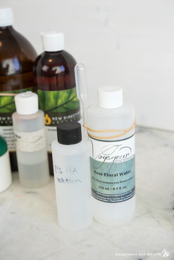 How to Make Lemon Rose Facial Lotion