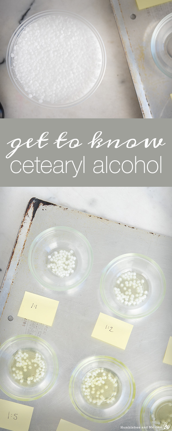 A Quick Guide to Cetearyl Alcohol & Liquid Oil Ratios