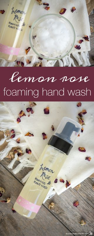 Lemon Rose Foaming Hand Wash