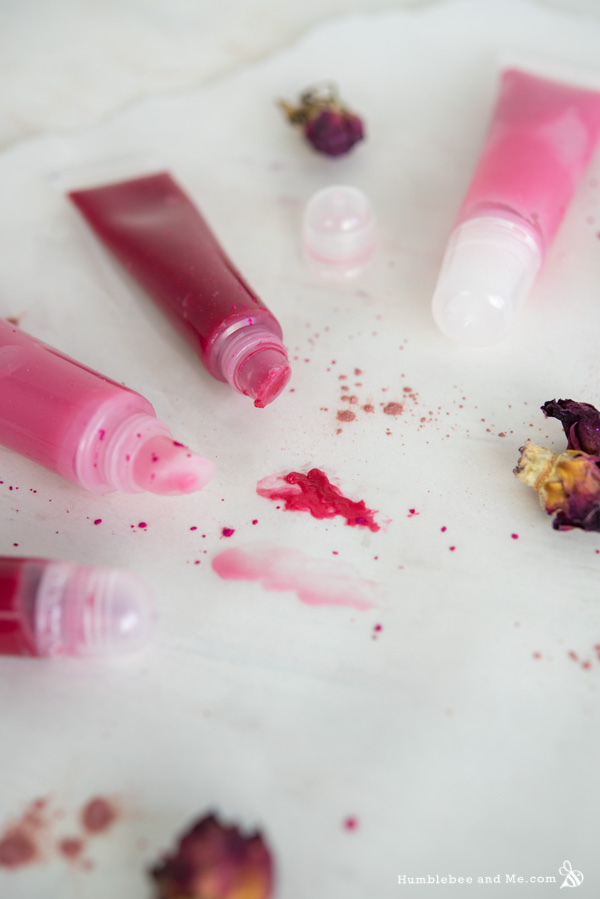 How to Make Lemon Rose Tinted Lip Balm