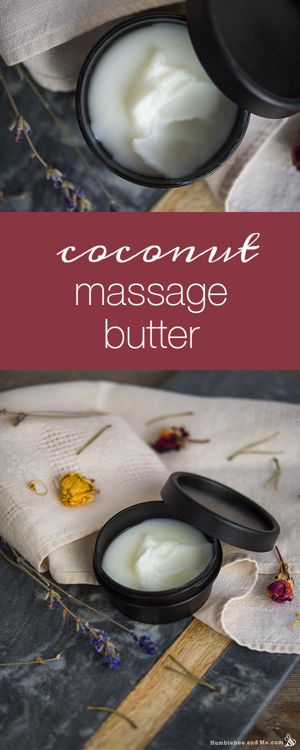 How to Make Coconut Massage Butter
