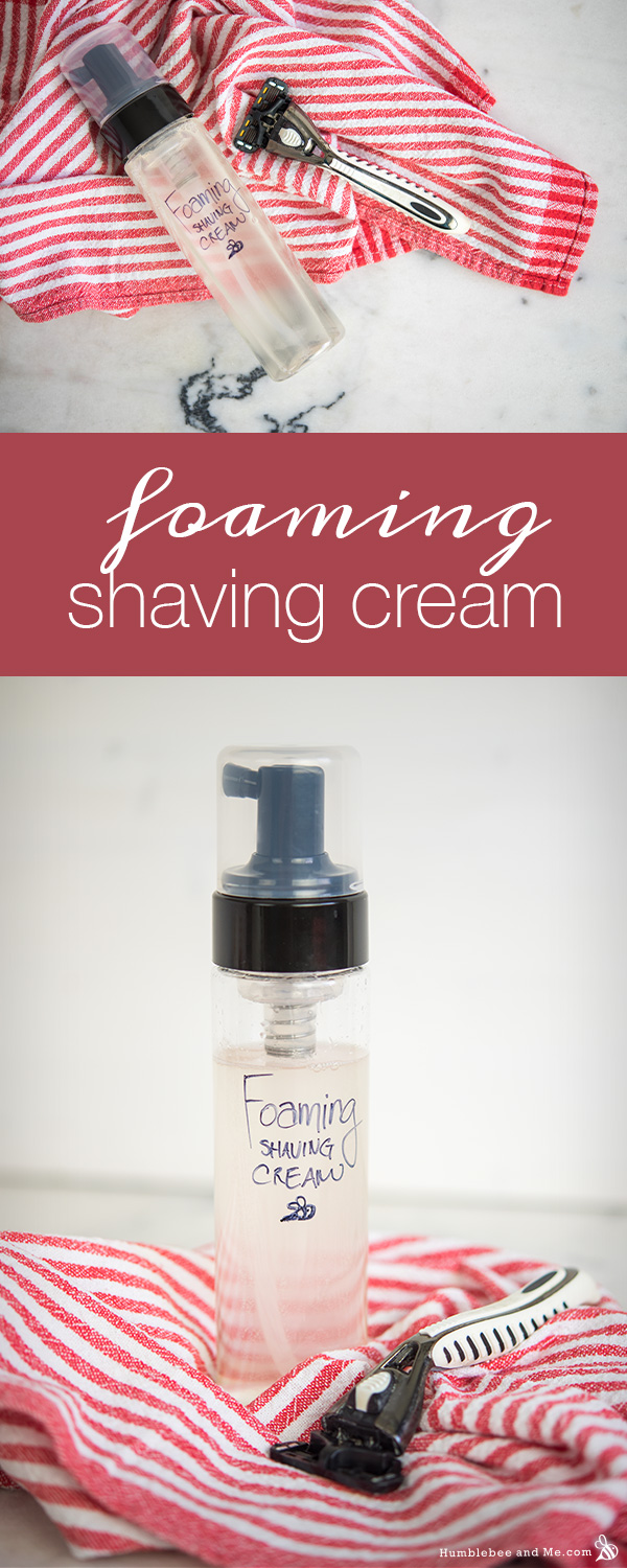 How to Make Foaming Shaving Cream