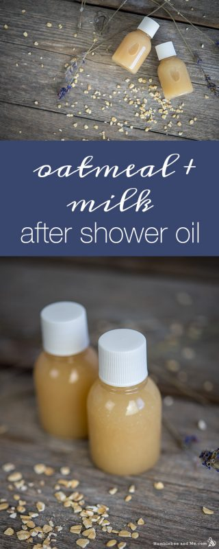Oatmeal & Milk After Shower Oil