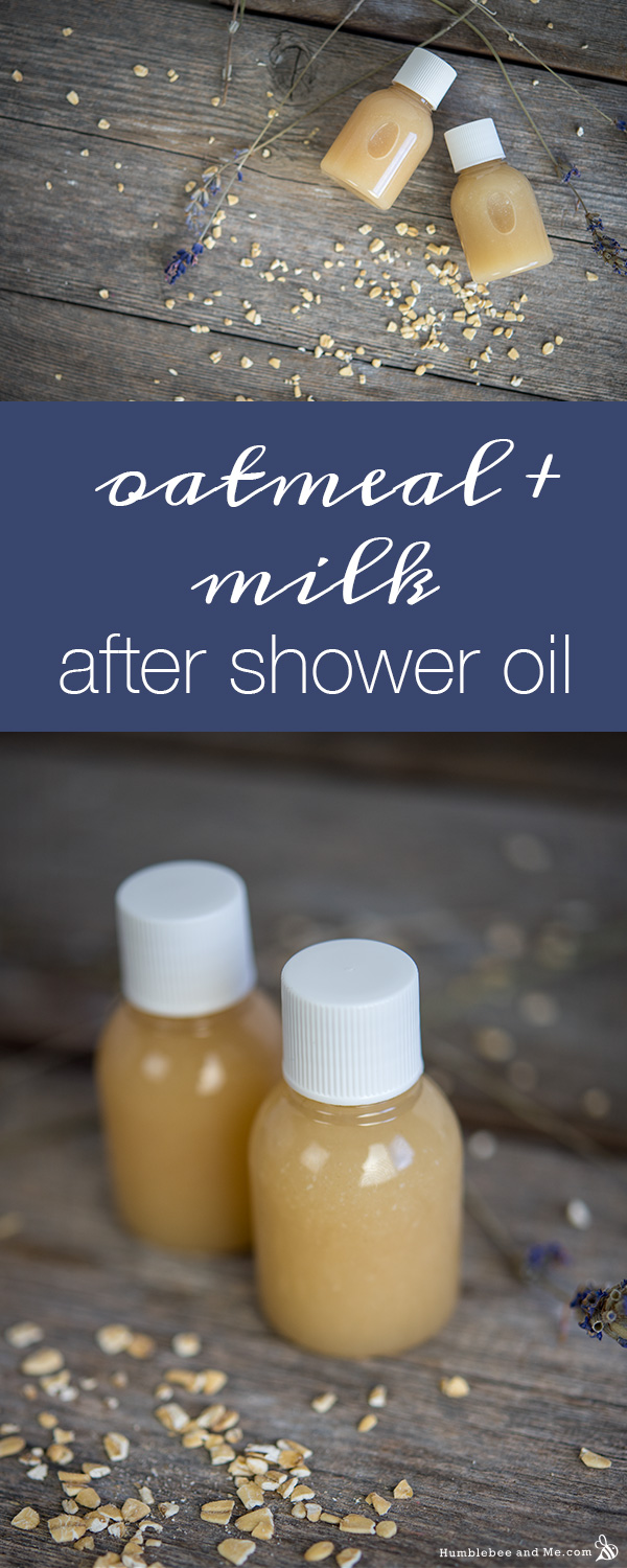 How to Make Oatmeal & Milk After Shower Oil