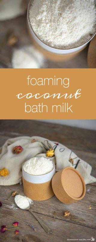 Foaming Coconut Bath Milk