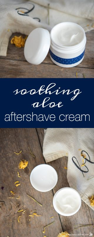 Soothing Aloe Aftershave Cream