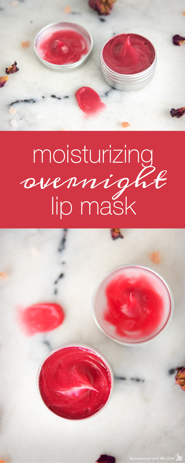 How to make a Moisturizing Overnight Lip Mask