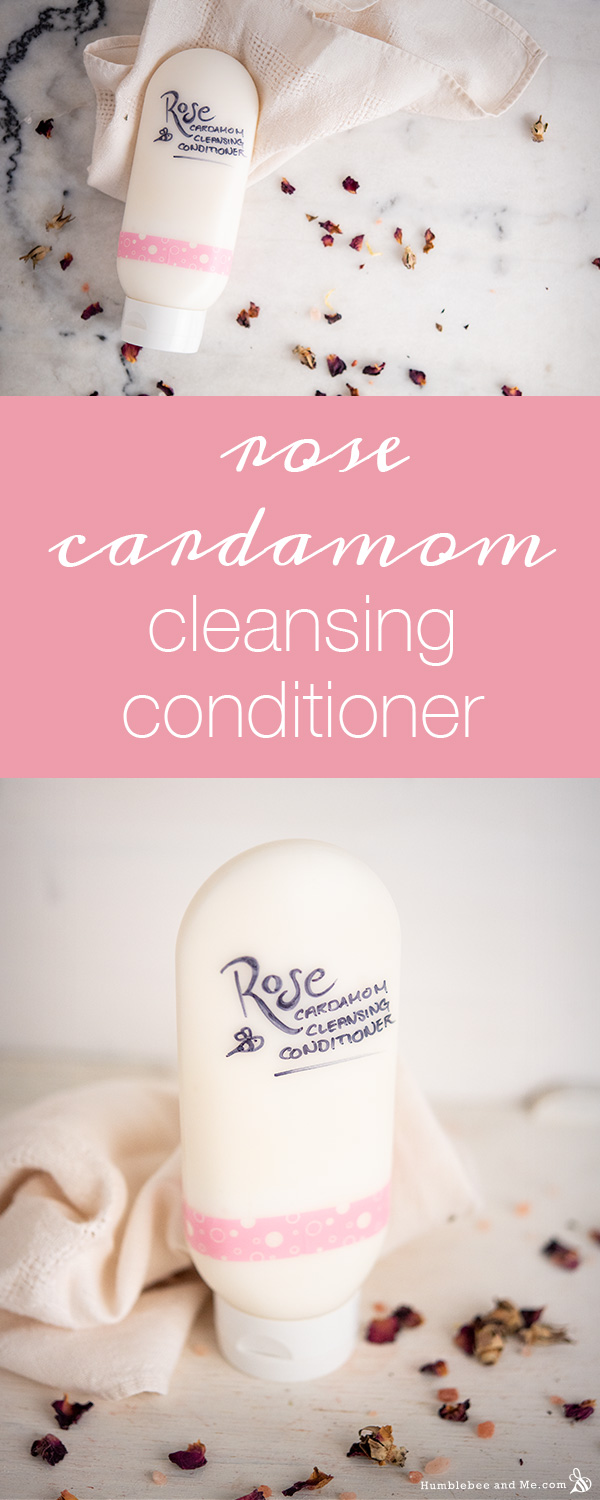 How to Make Rose Cardamom Cleansing Conditioner