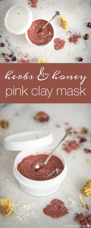 Herbs & Honey Pink Clay Mask