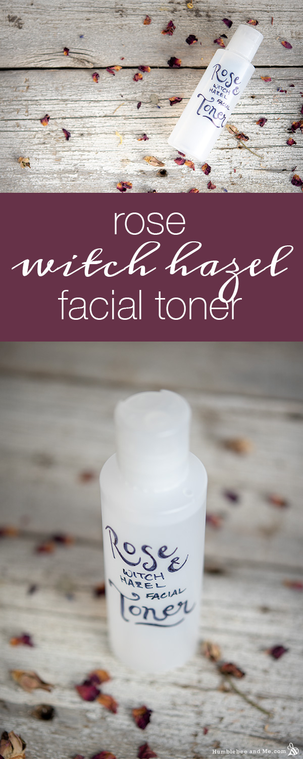 Rose Witch Hazel Facial Toner