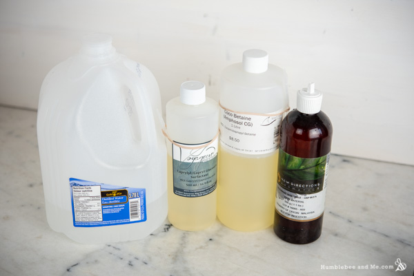 How to Make Citrus Burst Hand Wash