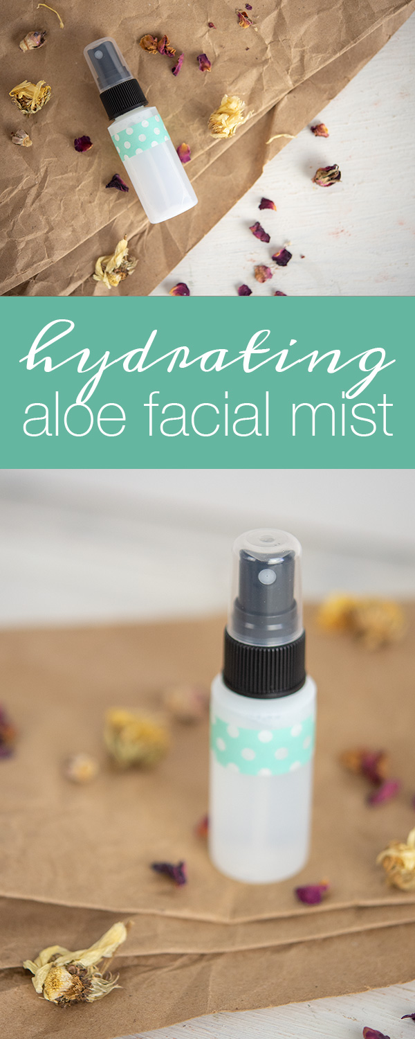 How to make Hydrating Aloe Facial Mist