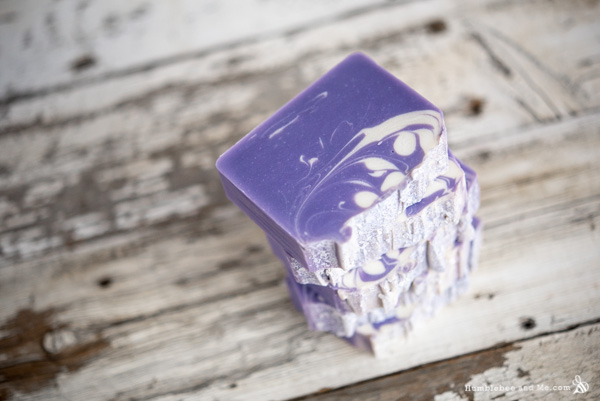 How to Make Sugar Plum Christmas Soap