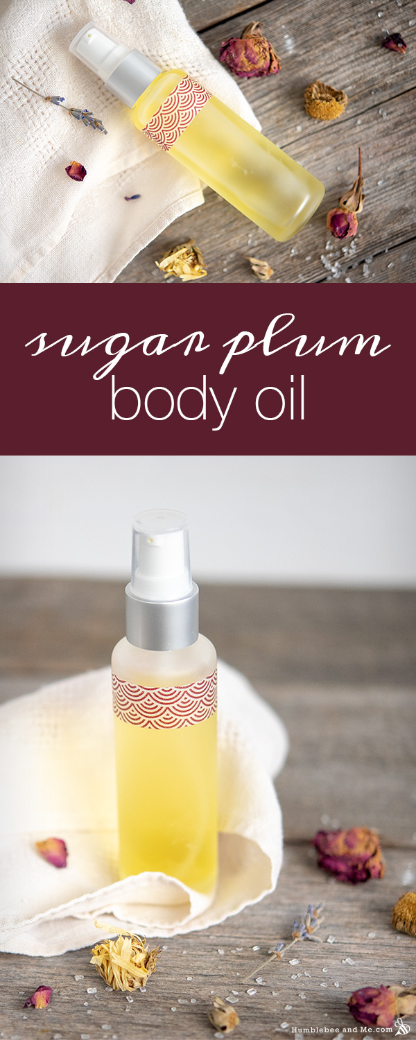 How to Make Sugar Plum Body Oil