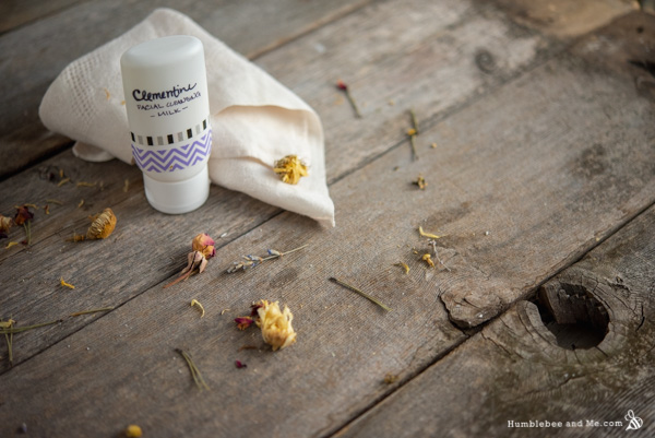 How to Make Clementine Facial Cleansing Milk