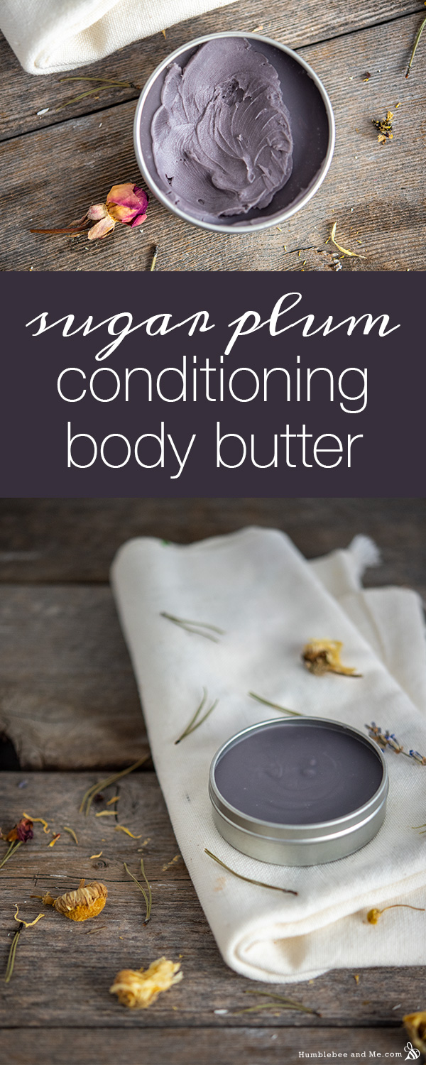 How to Make Sugar Plum Conditioning Body Butter