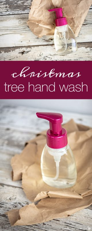 Christmas Tree Foaming Hand Wash