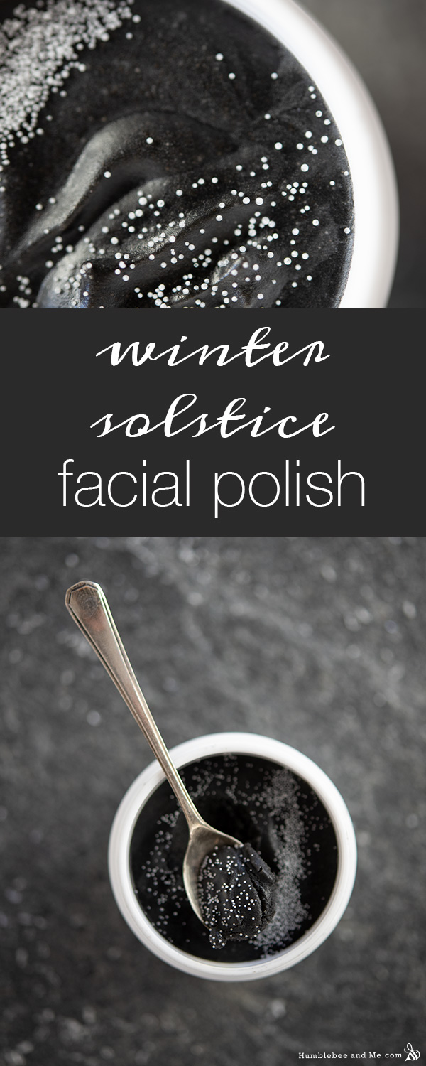 How to Make Winter Solstice Facial Polish