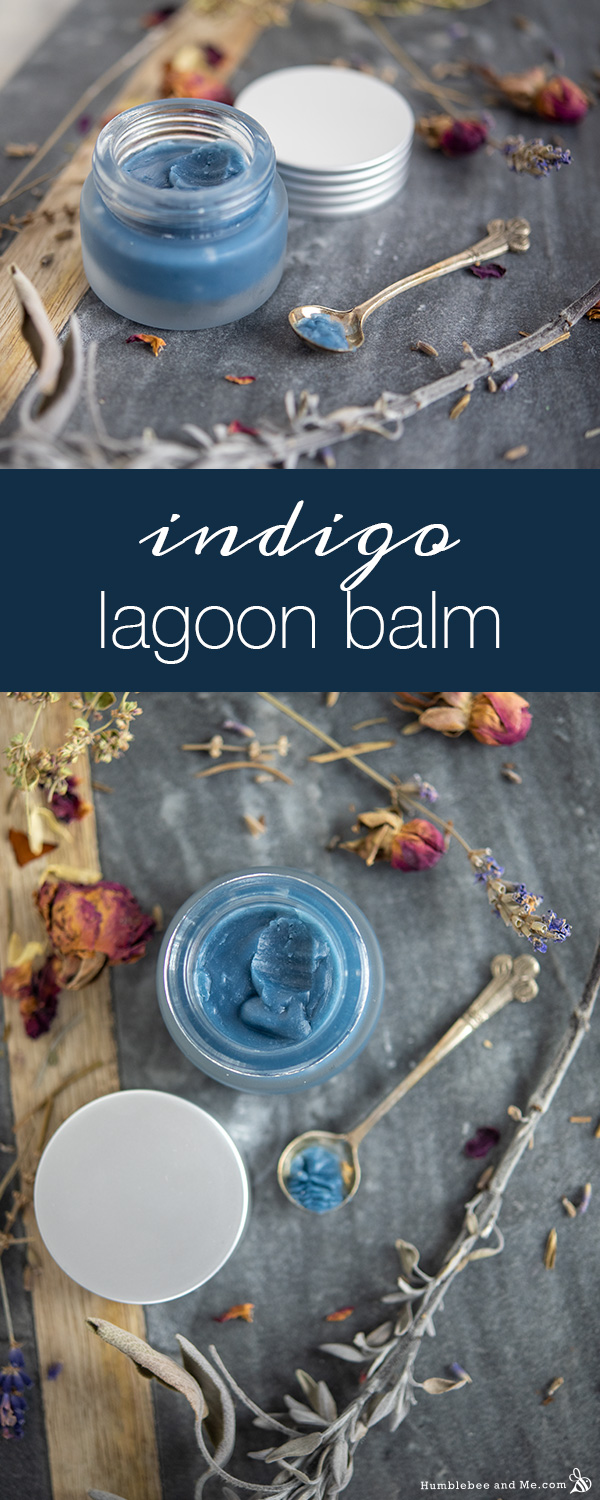 How to Make Indigo Lagoon Balm