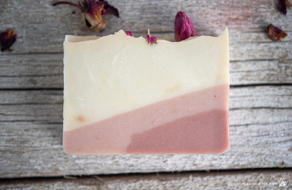How to Make Red Red Rose Soap