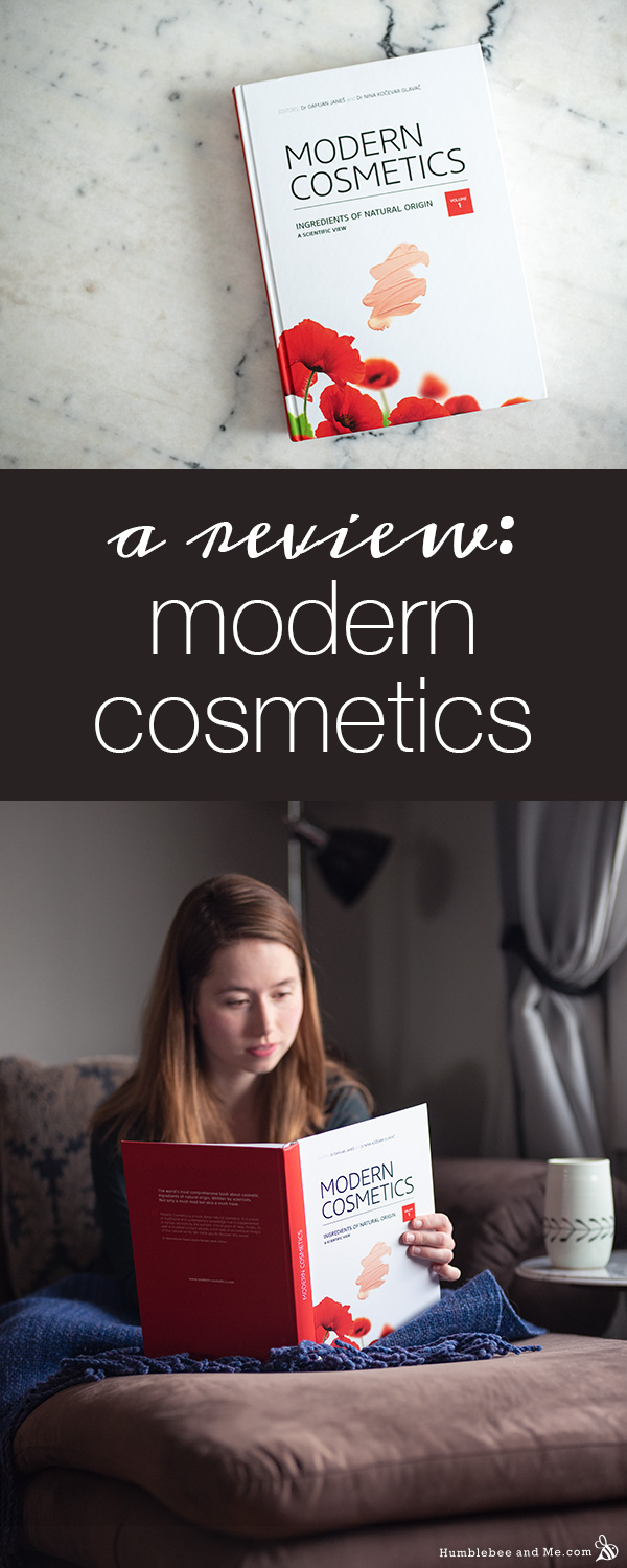 My Review of Modern Cosmetics: Ingredients of Natural Origin
