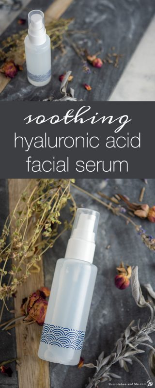Soothing Hyaluronic Acid Facial Serum