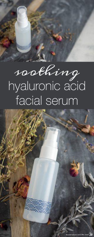 Soothing Hyaluronic Acid Facial Serum