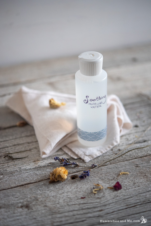 How to Make Soothing Micellar Water
