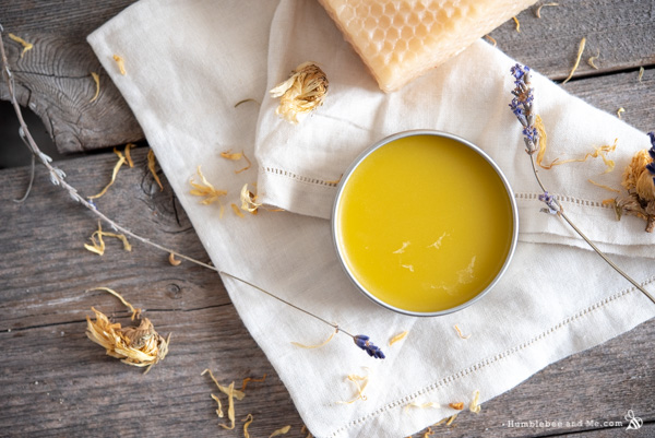 How to Make Calendula Sunshine Salve