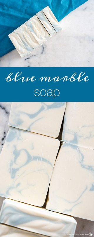 Blue Marble Soap