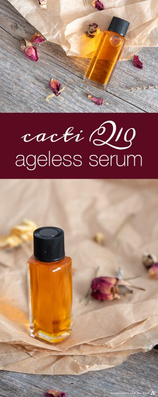 Cacti Q10 Ageless Facial Serum